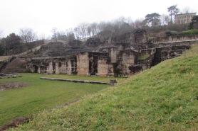 Roman Ruins. Lyon, France. February 2015.