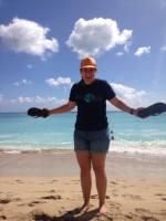 Me at Waikiki Beach
